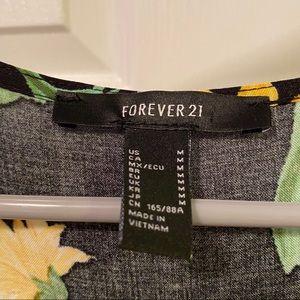 Forever 21 Dresses - Sunflower babydoll dress